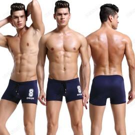 Maillot De Bain Nylon Natation Pour Hommes,Boxer La�age Maillot Swimsuit Taille S/M/L/Xl