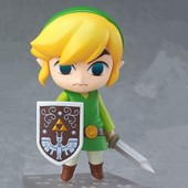 The Legend Of Zelda Wind Waker Link Argile Action Figure
