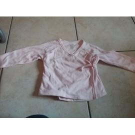 Gilet L'enfant Do Coton 12 Mois Rose Bonbon