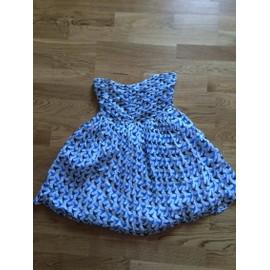 Robe Zara Coton 16 Ans Bleu