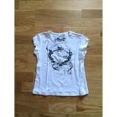 T-Shirt Creeks Coton 14 Ans Blanc