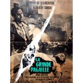 La Grande Pagaille (Tutti A Casa) - V�ritable Affiche De Cin�ma Pli�e - Format 60x80 Cm - De Luigi Comencini Avec Alberto Sordi, Serge Reggiani - 1960 #