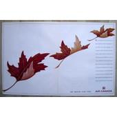 Publicit� Papier - Air Canada De 1986
