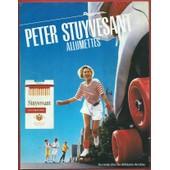 Publicit� Papier - Allumettes Peter Stuyvesant De 1987