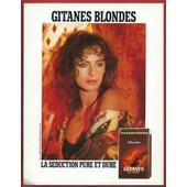 Publicit� Papier - Allumettes Gitanes De 1987