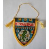 Fanion Gagliardetto Pennant Internazionale Milan - 11 Scudetti - Vintage 1970s