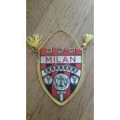 Vintage Ac Milan - Fanion - Pennant - 2 Faces