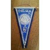 Superbe Fanion / Pennant Chelsea Fc