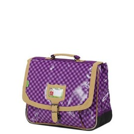 Cartable Tann's Heritage Vichy Polyester Violet