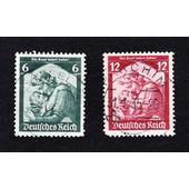Lot 6+12 Pfennig 1935 Die Saar Kehrt Heim (Deutsches Reich)