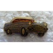 Pin's Cadillac Grise Decapotable