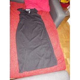 Robe Asos Polyester 40 Noir - Maternit�