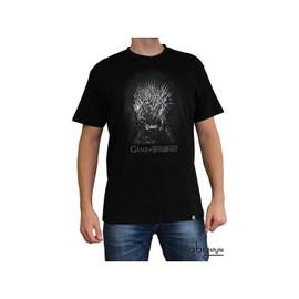 Game Of Thrones - Tshirt Tr�ne De Fer Homme Mc Black - Basic - L