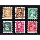 Lot 3+5+8+10+15 Pfennig 1927 (Deutsches Reich)