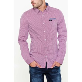 Chemise Guess Jeans Comfort Rouge Homme