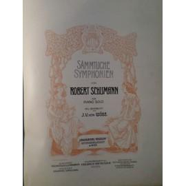 sammtliche symphonien von robert schumann