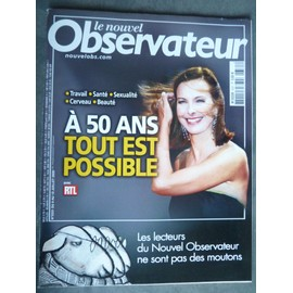 Le Nouvel Observateur, Carole Bouquet Cover Et Article, Robert Louis Dreyfus, Pina Bausch...