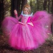 Robe De Princesse H�loise Filles Dentelle C�r�monie Bapt�me 2016