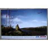 Publicit� Papier - Air Inter De 1989
