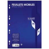 Clairefontaine Lot De 5 Feuillets Mobiles S/Film 21x29,7 100p S�y�s 90g
