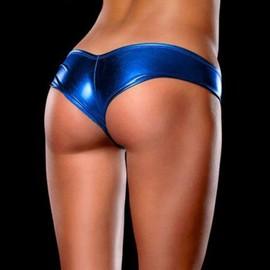 Lingerie Sexy Femmes Culotte G-String Metallic Micro Thong Sous-V�tements Pantalons Bikini