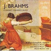 Brahms - Clarinet Chamber Music (Arthur Campbell) - Sacd (Super Audio Cd)