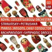 Stravinsky - Petrushka - Symphonic Dances (Jansons) - Sacd (Super Audio Cd)