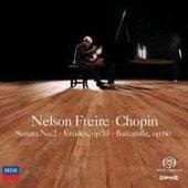 Chopin - Nelson Freire - Sonata No 2 Etudes Op 10 Barcarole - Sacd (Super Audio Cd)