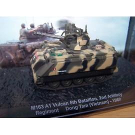 Occasion, Blindes de combat Altaya M163 A1 Vulcan. Reproduction de véhicules militaires.