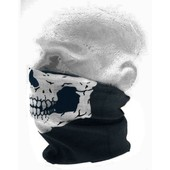Cagoule Masque Tour De Cou Tete De Mort Skull Ghost Airsoft Paintball Sport Etc