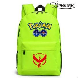 Sac � Dos Pokemon Go Game Adulte Cartable 20-35l Sac De Voyage Beige