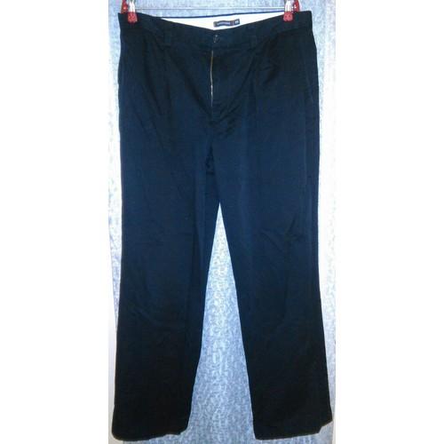 Pantalon de travail <strong>dockers</strong> coupe droite coton 42 noir 3332