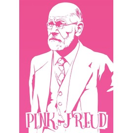 Grindstore Mini Poster 32 X 44 Cm Pink Freud