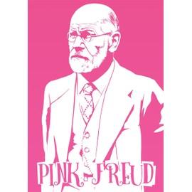 Grindstore Mini Poster 32 X 44 Cm Pink Freud Plastifi�