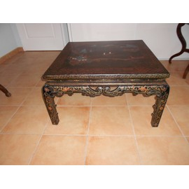 Table basse chinoise d 39 occasion 84 vendre pas cher for Table chinoise ancienne