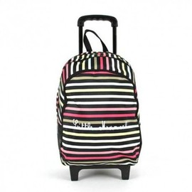 Little Marcel Sac � Dos Roulettes Scolaire �cole Enfant Gar�on Fille Cartable Trolley - Ray� - Color�