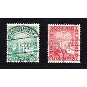 Lot 5+10 Pfennig Rheinland 1925 (Deutsches Reich)