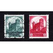 Lot 6+12 Pfennig 1934 Reichsparteitag (Deutsches Reich)