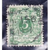 5 Pfennig Reichpost 1899 (Deutsches Reich)