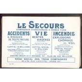 Buvard Assurance Le Secours