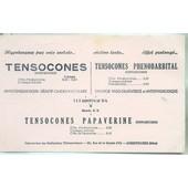 Buvard Tensocones