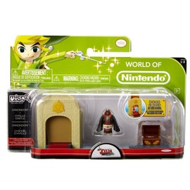 Figurine Zelda - World Of Nintendo - Ganondorf + Hyrule Castle