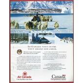 Publicit� Papier - Air Canada De 1993