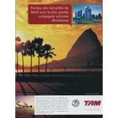 Publicit� Papier - T A M Airlines - Br�sil De 2012