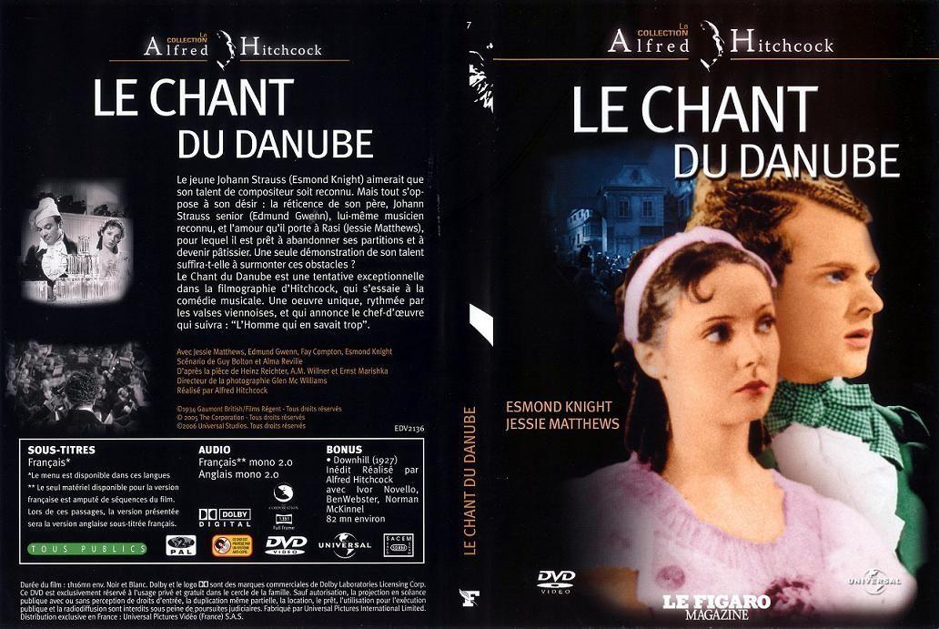 Waltzes from Vienna aka Le Chant du Danube, starring Jessie Matthews (1934, dir. Alfred Hitchcock) French Universal-Le Figaro magazine DVD