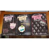 Monster High Tomes 1 A 3 De Lisi Harrison