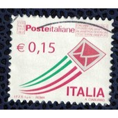 Italie 2015 Oblit�r� Used Stamp Flying Cover Enveloppe Volante 0,15�