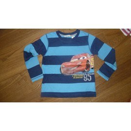 T-Shirt Cars Flash Mcqueen 6 Ans