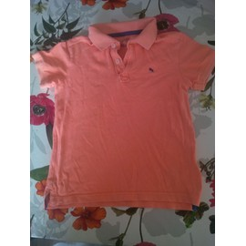 T-Shirt H&m Coton 5/6 Ans Orange