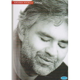 Andrea Bocelli Anthology - partitions piano & chant & accords guitare